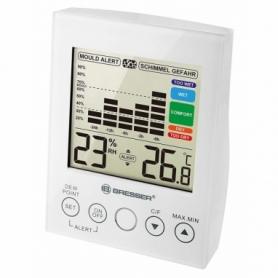 Термометр-гигрометр Bresser MA With Mould Alert White