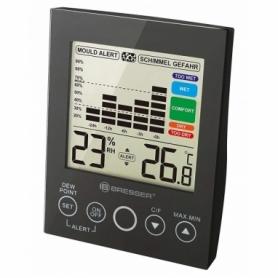Термометр-гигрометр Bresser MA With Mould Alert Black