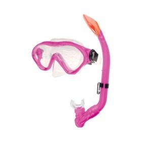 Маска для плавания детская Spokey Cayman Junior (839880), розовая