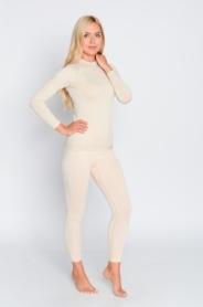 Комплект термобелья женский спортивный Haster Hanna Style ProClima (SL90186) - бежевый