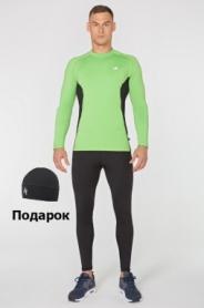 Костюм спортивный мужской Rough Radical Intensive SL8227, зеленый