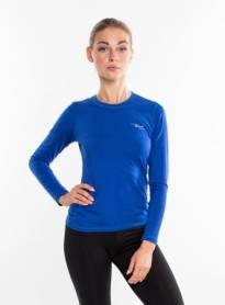 Термофутболка женская с длинным рукавом Rough Radical Efficient (SL8148) - синяя