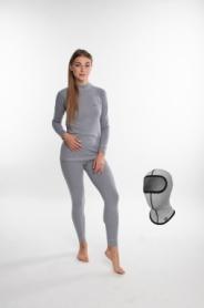 Комплект термобелья женский Rough Radical Cute серый