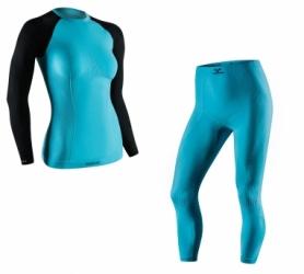 Комплект термобелья спортивный женский Tervel Comfortline (SL2002400241) - синий