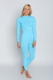 Комплект термобелья спортивный женский Tervel Comfortline (SL200240024) - голубой