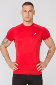 Футболка спортивная мужская Rough Radical Fury SS (original) (SL8075) - красная