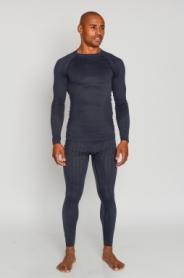 Комплект термобелья мужской спортивный Haster Hanna Style UltraClima (SL90101) - черный