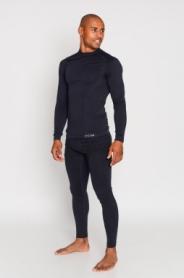 Термокофта спортивная мужская Haster ProClima (SL05-211) - черная