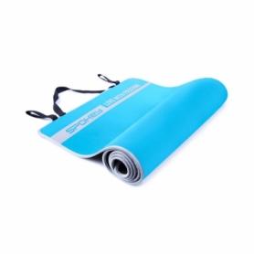 Коврик для йоги двусторонний Spokey Flexmat V (920915) - голубой
