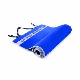 Коврик для йоги двусторонний Spokey Flexmat V (920914) - синий