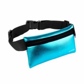 Сумка-чехол на пояс для бега Spokey Hips Bag (924431) - голубая