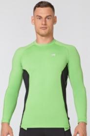 Кофта компрессионная спортивная мужская Rough Radical Fury Duo LS (original) (SL8053) - зелено-черная