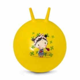 Мяч для фитнеса (фитбол) с рожками Spokey Dorothy (922743), 60 см