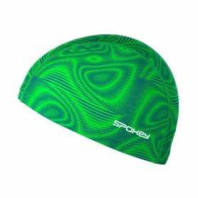 Шапочка для плавания Spokey Trace 922544 зеленая