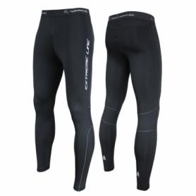 Женские спортивные утепленные лосины для бега Rough Radical Thunder, черные
