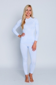 Комплект термобелья женский спортивный Haster Hanna Style ProClima (SL90213) - голубой