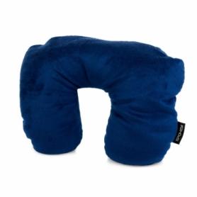 Подушка дорожная под голову Spokey Origami (925060), синяя