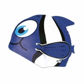 Шапочка для плавания детская Spokey Rybka (87470), синяя