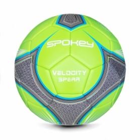 Мяч футбольный Spokey Velocity Spear (920054) - зеленый, №5