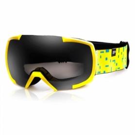 Маска лыжная Spokey Evans (926730) - желтая