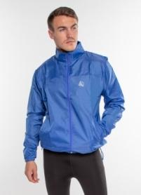 Ветровка-дождевик с капюшоном мужская Rough Radical Flurry (original) (SL8045) - синяя