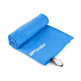 Полотенце охлаждающее для спортзала Spokey Sirocco (924998) синее, 80х150 см