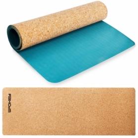 Коврик для йоги Spokey Savasana (926522) - голубой