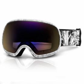 Маска лыжная Spokey Park (926702) - черно-белая