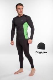 Костюм спортивный мужской Rough Radical Intensive SL8228, черный