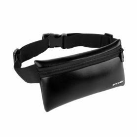 Сумка-чехол на пояс для бега Spokey Hips Bag (924433) - черная
