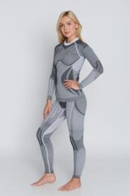Комплект термобелья женский с шерстью альпаки Haster Hanna Style Alpaca Wool (SL90072) - белый