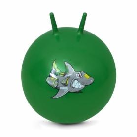 Мяч для фитнеса (фитбол) с рожками Spokey Sharky (922742), 60 см