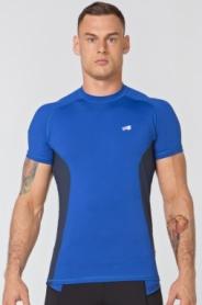 Футболка компрессионная спортивная мужская Rough Radical Fury Duo SS (original) (SL8067) - синий