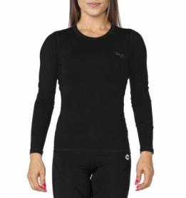 Термофутболка женская с длинным рукавом Rough Radical Efficient (SL8147) - черная