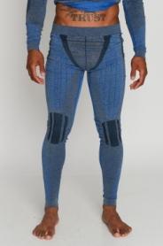 Термоштаны мужские с шерстью альпаки Haster Alpaca Wool (SL50w203) - синие
