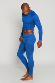 Термоштаны мужские спортивные Haster UltraClima Hanna Style (SL50u203) - голубые