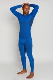 Термокофта мужская спортивная Haster UltraClima Hanna Style (SL50u103) - голубая