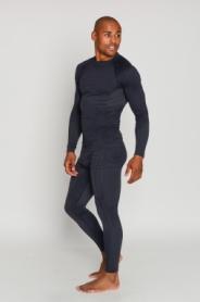 Термокофта мужская спортивная Haster UltraClima Hanna Style (SL50u101) - черная