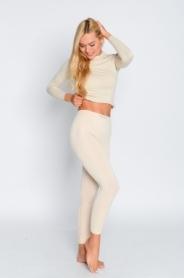 Термоштаны спортивные женские Haster ProClima Hanna Style (SL06-1206) - бежевые