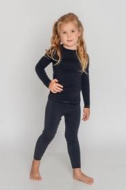 Термокофта детская Tervel Comfortline (SL5001) - черная - Фото №2