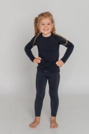 Термокофта детская Tervel Comfortline (SL5001) - черная - Фото №3