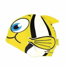 Шапочка для плавания детская Spokey Rybka (82276), желтая