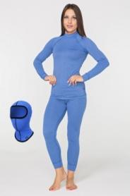 Комплект термобелья женский Rough Radical Cute голубой