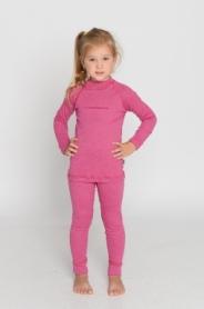 Комплект термобелья детский зимний Radical Snowman (SL8032) - розовый