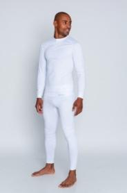 Термокофта спортивная мужская Haster ProClima (SL05-215) - белая