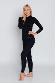 Комплект термобелья женский спортивный Haster Hanna Style ProClima (SL90191) - черный