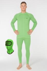 Комплект термобелья мужской повседневный Radical Madman (SLM8012) - зеленый