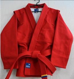 Куртка для самбо Stels красная