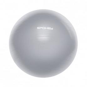 Мяч для фитнеса (фитбол) 65 см Spokey Fitball lIl (921021) серый