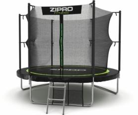 Батут с внутренней сеткой Zipro Fitness 252 см